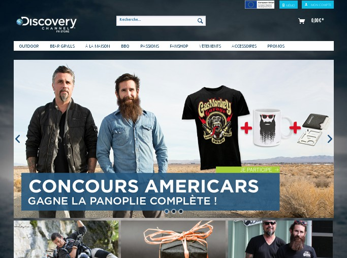 Code promo discovery fr store codes promo et r ductions for Discovery 24 shop